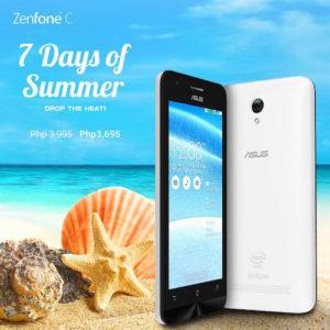 7 Days of Summer - ZenFone C