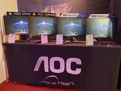 ESGS 2018 - AOC G2590PX Lead New AOC Monitors • DR on the GO