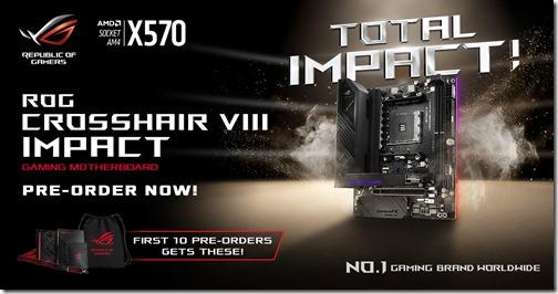 ROG Crosshair VIII Impact Promotion